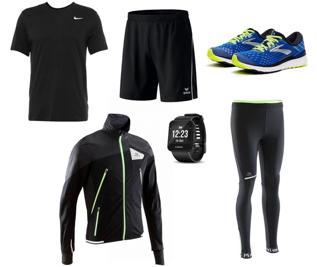 The exerciser outfit